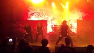 Amon Amarth - Death in Fire, Bucharest 2014