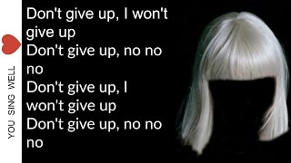 Sia The Greatest ( Lyrics )