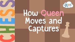 Chess: How Queen Moves and Captures