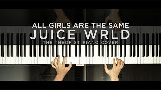 Juice WRLD - All Girls Are The Same | The Theorist Piano Cover