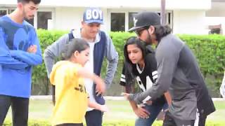 Old Vs New Dance Battle | Ranz and Niana ft The Williams Fam Shoot Challenge