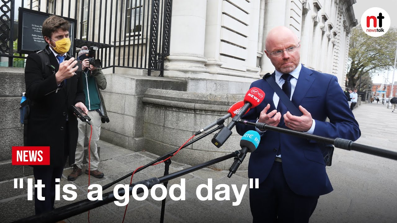 """It is a Good Day,"" Stephen Donnelly on the easing of COVID Restrictions"