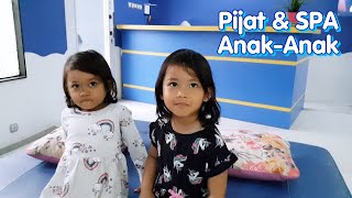 Kak Aruna & Adik Razqa Pijat Bayi & Creambath Anak Di Bunda Esti Fisioterapi Baby Spa Jogja
