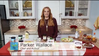 CREATIVE HOLIDAY FUN SPECIAL WITH THE FOUNDER OF 'WHAT'S ON PARKER'S PLATE' PARKER WALLACE