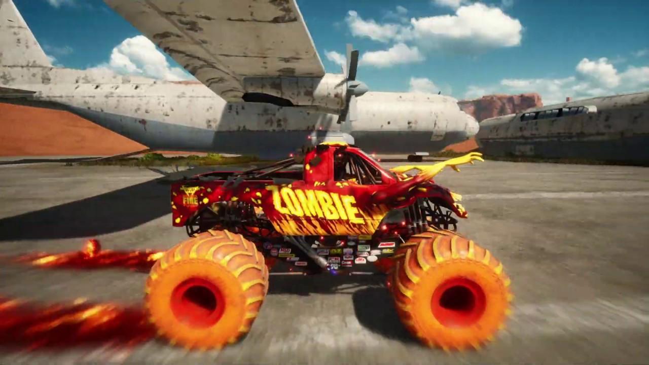 Monster Jam Steel Titans - Fire & Ice DLC Trailer