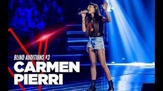 """Carmen Pierri  """"Fa che non sia mai"""" - Blind Auditions #3 - TVOI 2019"""