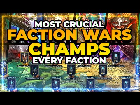 Most CRUCIAL Champ for Each Faction! | RAID Shadow Legends