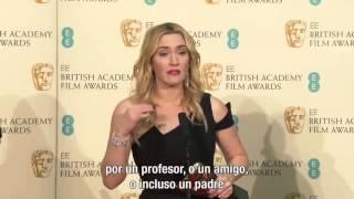 Discurso Kate Winslet en los BAFTA 2016 - Subtitulado