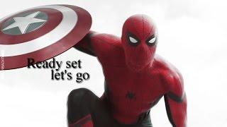 Peter Parker; ready set let's go.