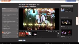 Switchcam Demo: John Mayer live at Hollywood bowl