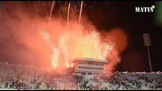 La joie des supporters après le sacre de l'équipe nationale des joueurs locaux