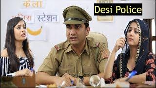 Desi Police Station ke Jhatke - | Lalit Shokeen Films | width=