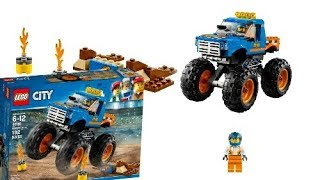 LEGO News: New LEGO City winter 2018, Monster Truck, set 60180, Official Pictures