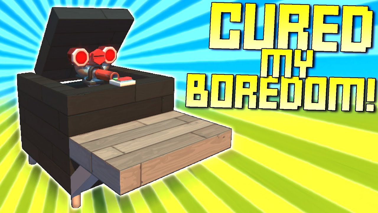 """ScrapMan - We Searched for """"Bored"""" on the Workshop to Cure Our Boredom!  - Scrap Mechanic Workshop Hunters"""