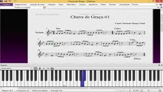 Harpa Cristã-Chuva de Graça Nº1 Partitura Baixar