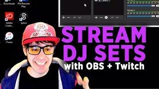 OBS Studio for DJs Tutorial with DJ Cutman