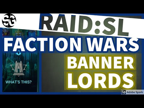 [RAID SHADOW LEGENDS] FACTION WARS! - BANNER LORDS