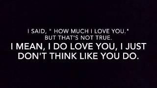 "Rhett and Link's ""I'm Just Being Honest"" song lyrics"