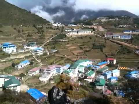 Above Namche bazaar