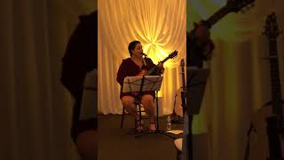 Laura Duggan covers Jason Mraz I'm Yours at wedding ceremony plus snip of Bob Marley Is This Love