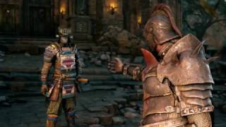 "For Honor - 3.6 Apollyon: ""Admit What You Are My Wolves"" (Factions Battle) Apollyon Death Cutscene"