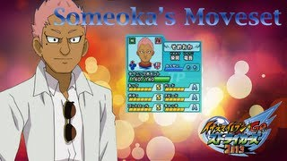 Someoka's Moveset In Inazuma Eleven Go Strikers 2013