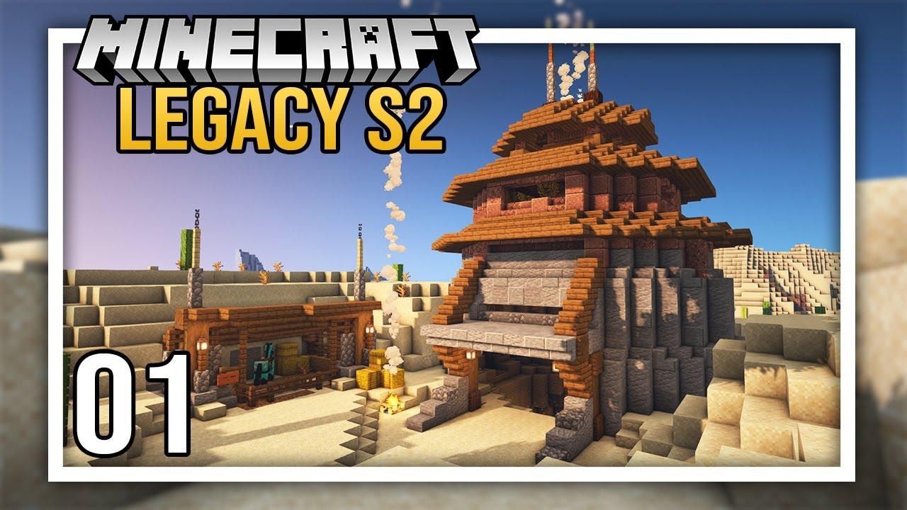 NashCrafter - Nether Adventures with Sausage & Python + Starter Base! | Episode 1 | Legacy SMP Season 2