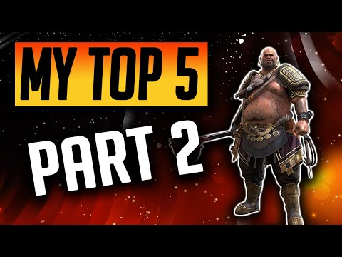 MY TOP 5 CHAMPIONS TO MAX IN EACH FACTION 2021! Part 2 | Raid: Shadow Legends