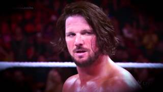 AJ Styles Entrance Video (Get Ready to Fly)