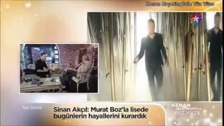 Sinan Akçıl, geçmişte Murat Boz'la neyin hayallerini kurdu?