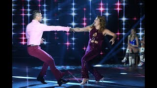 "Nancy Pazos y Cristian Ponce bailaron ""Boogie wonderland"" de Earth, wind and fire."