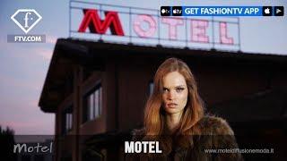 Motel Photoshoot | FashionTV
