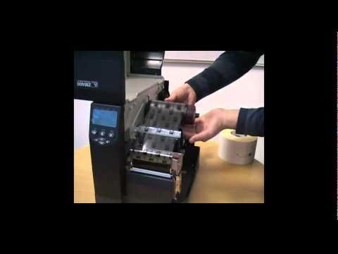 Zebra Zm400 Barkod Yazıcı Etiket ve Ribon Takma
