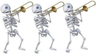 Spooky Scary Skeletons: Halloween 2018 Trombone Arrangement