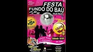 CHAMADA - FESTA FUNDO DO BAÚ - 16-05-2015  NO RACHO SHOW BAR