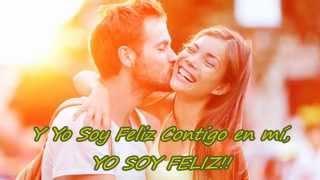 FELIZ - David Bustamante (Letra)