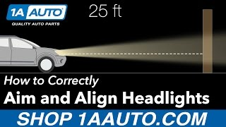 How to Aim and Align your Headlights Correctly width=