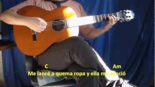 Cómo tocar La Diabla - Romeo Santos - Guitarra Tutorial HD
