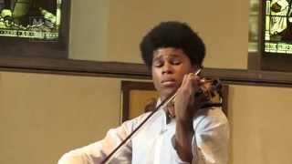 Braimah Kanneh-Mason plays Melody by Tchaikovsky at Munster Square Live