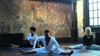 David Olton Lyrical Stretch-Contemporary yoga dvd-Rehersal