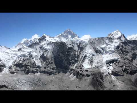 World Travel : Trip 090 : Nepal, Island Peak Trek : Fantastic views from the 6189m/20275ft Summit