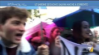 Le sardine seguono Salvini anche a Sorrento