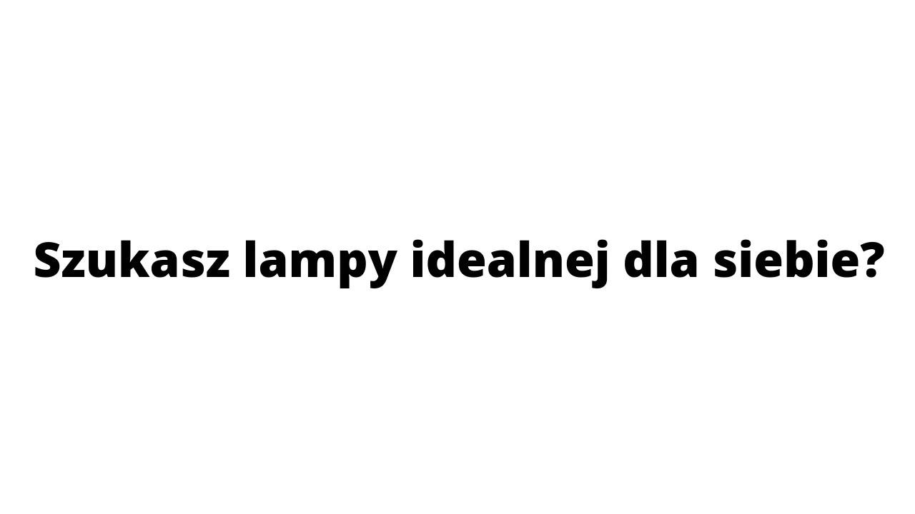 Lampy na zamówienie - Black Swan Studio