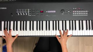 김동률 (Kim Dong Ryul) Feat.이소라 사랑한다 말해도 Although We say I love You . Piano cover with Yamaha mx88
