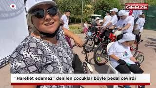 """Hareket edemez"" denilen Serebral Palsili çocuklar pedal çevirdi!"
