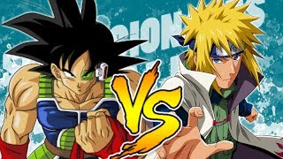 MINATO VS. BARDOCK || SENSACIONALES BATALLAS DEL RAP || DRAGON BALL & NARUTO || MCPLAY FT KROOZ