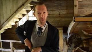 Dramatiserade historiska vandringar på Korrö Hantverksby