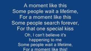 Kelly Clarkson - A Moment Like This (Instrumental Version)