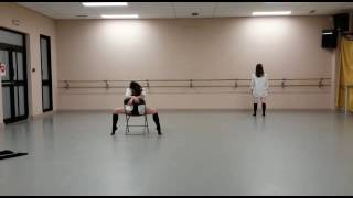 Duo de danse moderne jazz