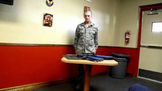 Air Force Basic Training M16